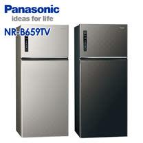 Panasonic國際牌 650公升 雙門 變頻 電冰箱 NR-B659TV-贈玻璃保鮮罐2入SP-1910