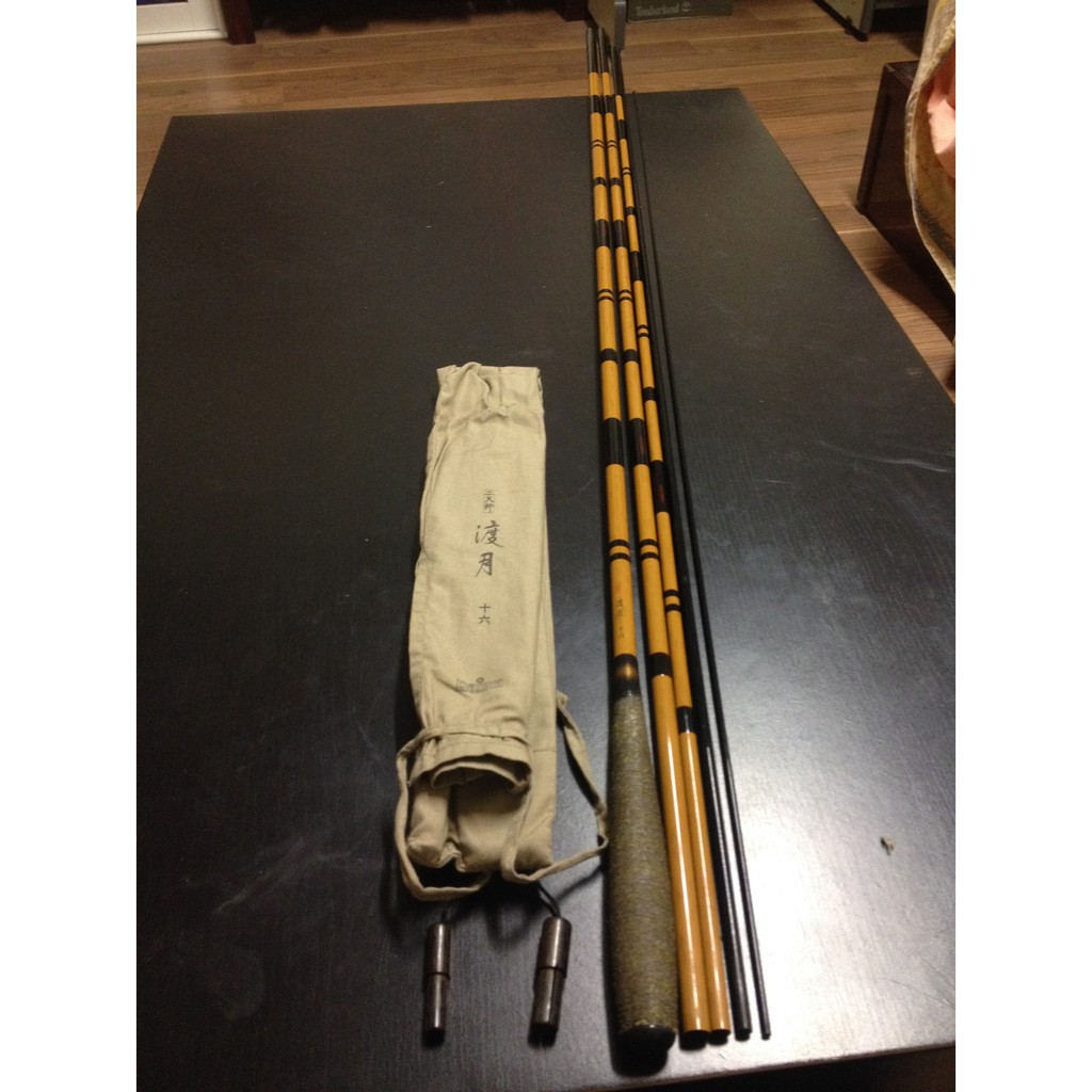 鯽魚竿 Daiwa 渡月 十六呎 二手