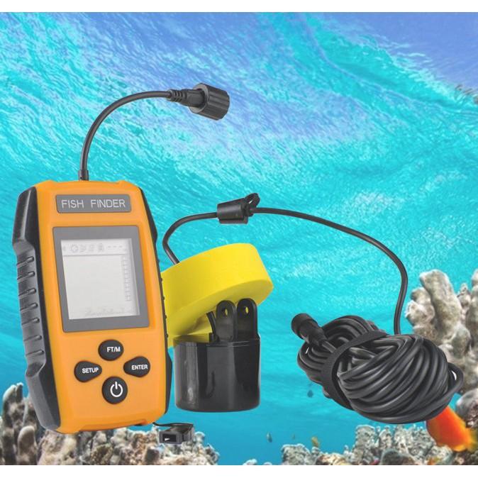 超音波魚群探測器 有線探魚器 探測器 釣魚聲納 超音波魚群探測器
