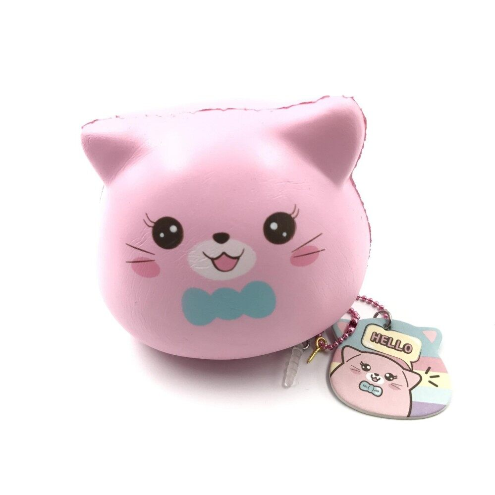 Original puni maru marshmallow kittens squishy soft and slow rising squishy toy scented
