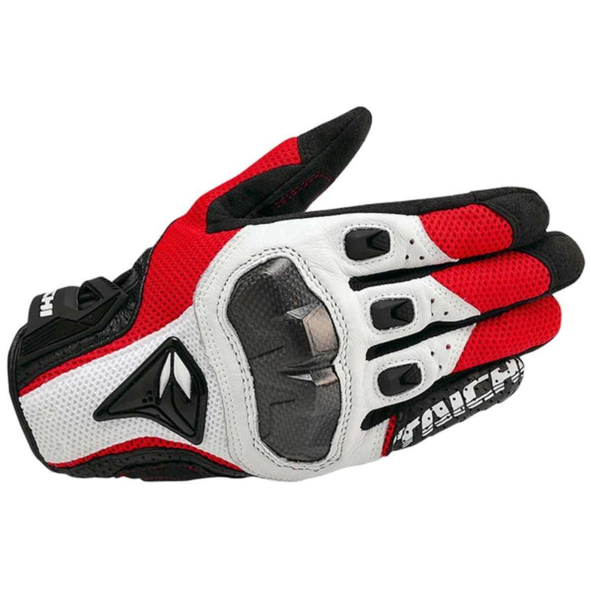 DualX RS Taichi RST391 Mens Perforated leather Motorcycle Mesh Gloves- L size