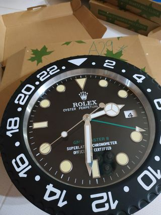 🚚 Rolex Wall Clock