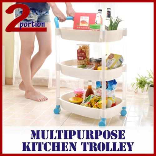 Kitchen Trolley - 4 Tier