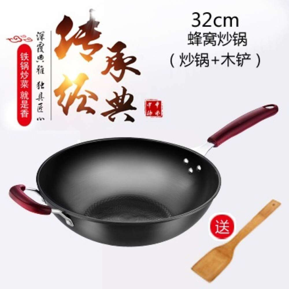 Traditional Iron Wok Cast Pot Iron
