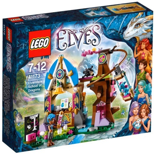 LEGO 41173 Elves Elvendale School of Dragons Set New In Box #41173