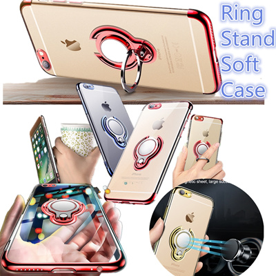 OPPO R9 R9S R11 R11S PLUS  Ring TPU Soft  CASE