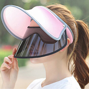 Women Summer UV Protection Sunshade Visor Hat