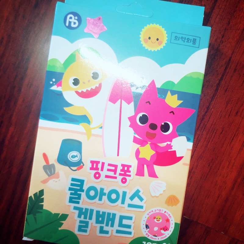 🇰🇷韓國碰碰狐/鯊魚寶寶 止癢貼