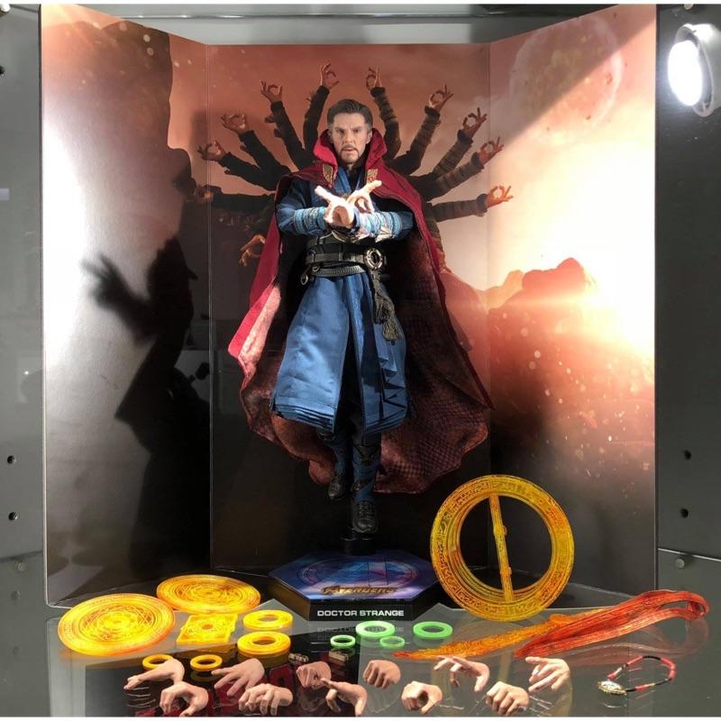 【模幻力量】Hot Toys 現貨《復仇者聯盟3:無限之戰》MMS484 奇異博士  1/6比例珍藏人偶