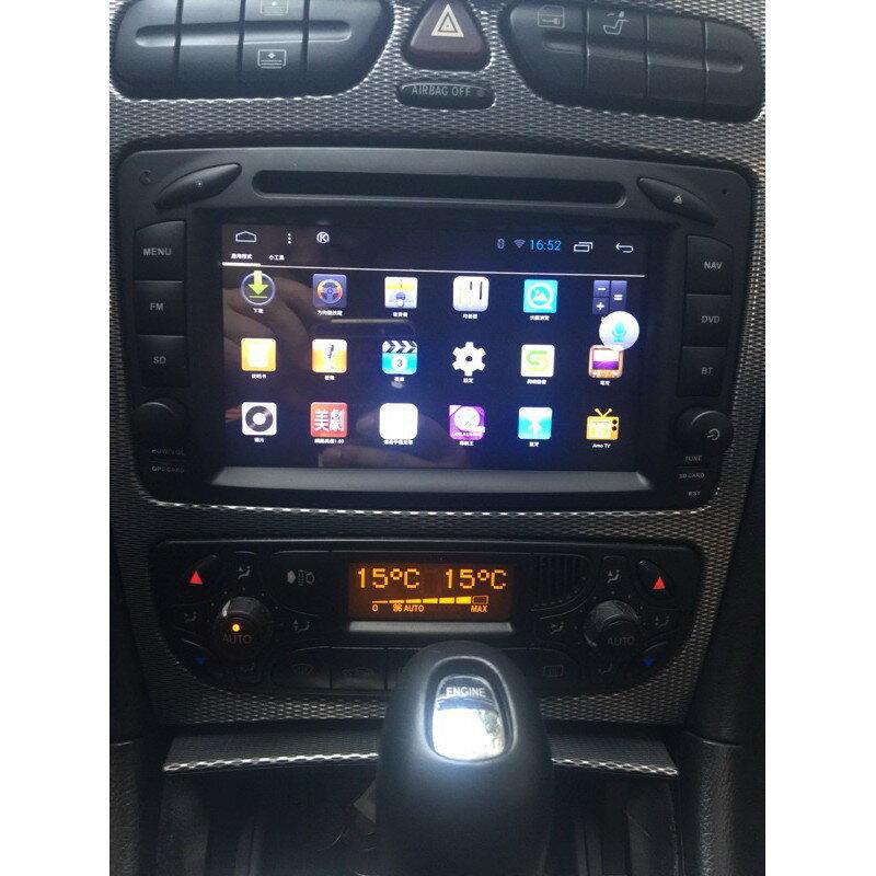 賓士W168 W203 CLKC209 W209 WIFI.網路電視.藍芽電話 平板 上網 安卓版螢幕主機