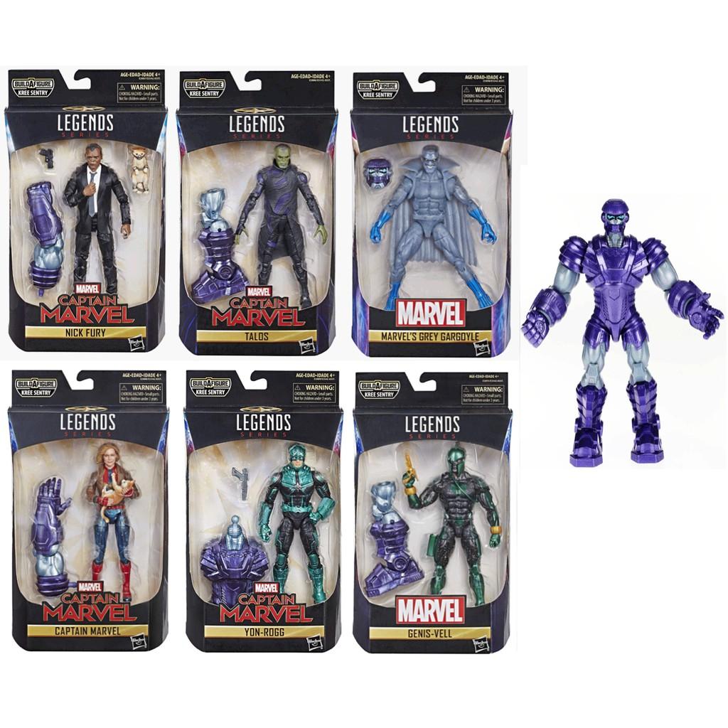Hasbro 漫威傳奇 Marvel Legends 驚奇超人 6吋傳奇人物組 全套不拆售 < JOYBUS >