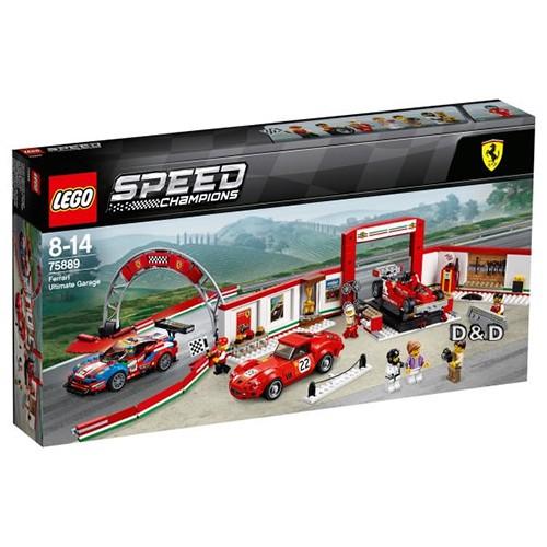 LEGO 樂高 SPEED CHAMPIONS 賽車系列 - LT75889 法拉利終極車庫