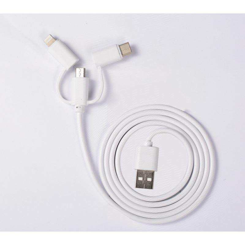 HONOR 3 in 1 USB Cable(lightning/type-C/Micro)
