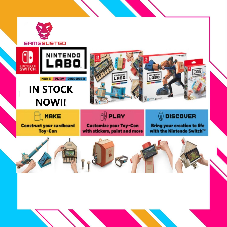 Nintendo Switch Labo Bundle