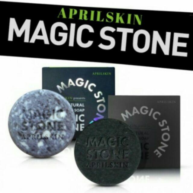 (過期品~expired)韓國APRILSKIN MAGIC STONE 魔法石 洗面皂潔顏皂