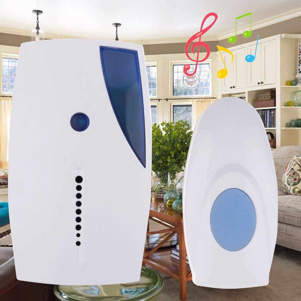 Wireless Door Bell Includes Transmitter Battery 36 Music Chimes