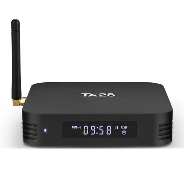 Tanix TX28 RK3328 4GB RAM 32GB ROM 5G WIFI Bluetooth 4.1 USB3.0 TV Box