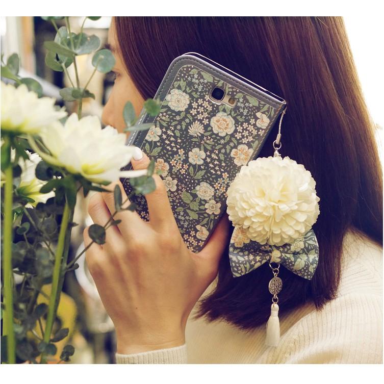 茉莉花皮套送掛繩送吊飾 三星 Galaxy Note4/Note5/Note8 /Note9手機套 手機殼