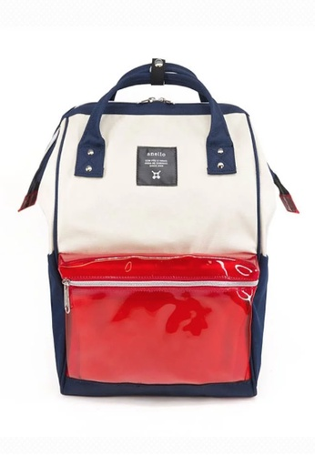 Anello anello Polyester Clear Pocket Backpack