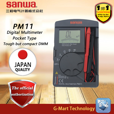 SANWA PM11 Digital Multimeters Pocket Type