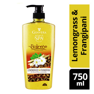 Ginvera World Spa Shower Scrub - Balinese(Lemongrass&Frangipan