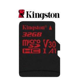 SDCR/32GB 小卡 4K A1 記憶卡 金士頓 React C10 32G U3 V30 Micro SD TF 記憶卡【海馬】