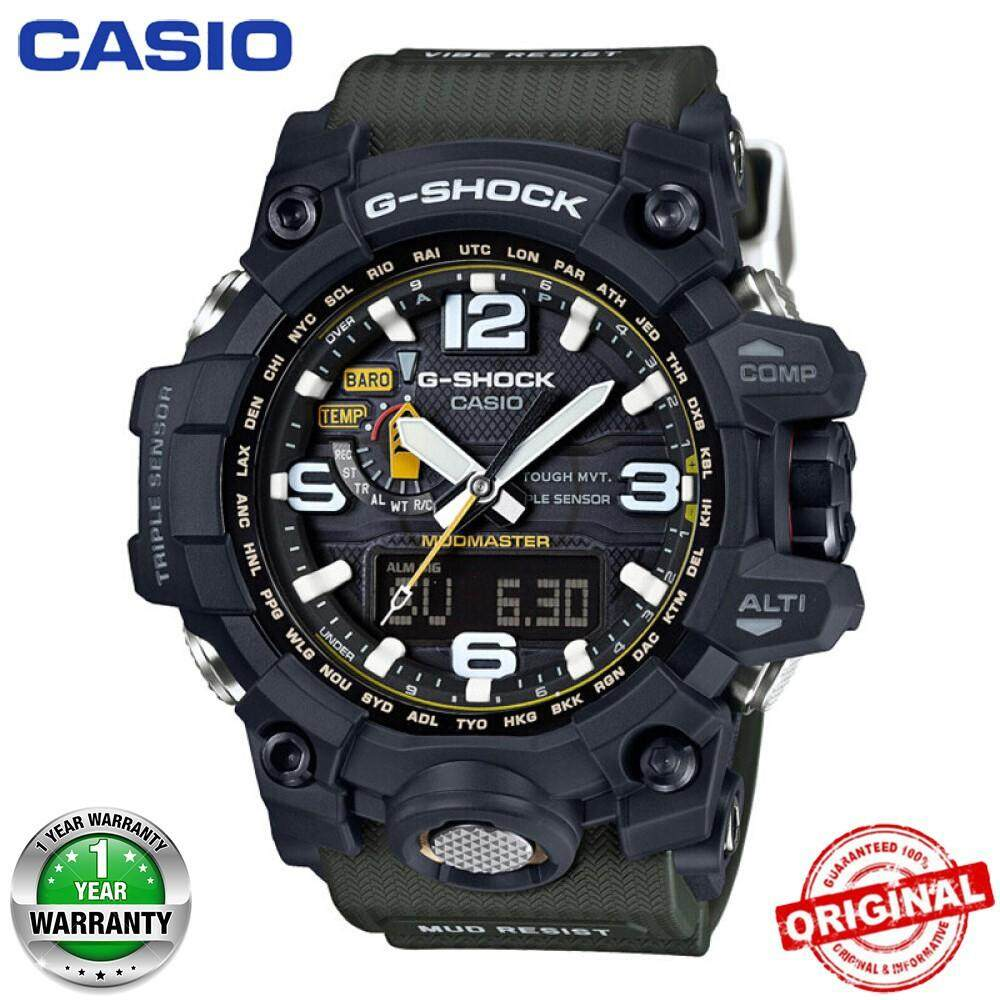 【Hot Sales】Casio G-Shock GWG-1000 MUDMASTER Wrist Watch Men Sport Watches