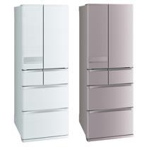 【三菱】525L日本原裝變頻六門電冰箱MR-JX53C*送手持吸塵器+原廠禮(8/25止)