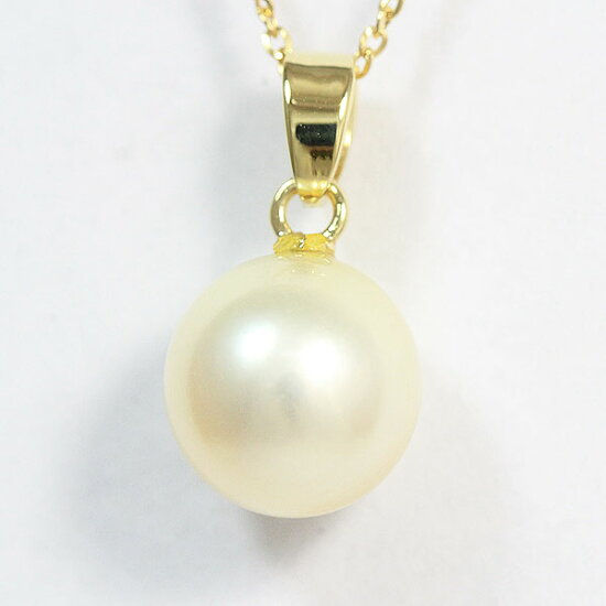 MIKIMOTO(mikimoto)項鏈珍珠珍珠約直徑8.6mm 18錢黄色黄金(K18YG)/14錢黄色黄金(K14YG)名牌珠寶netshop Jewelry-Total Tiara Inc.