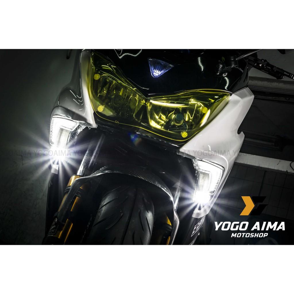 【優購愛馬】CTH 鋼彈方向燈 F1 FORCE 整合型 方向燈 天使眼 霧燈 導光條 LED 三合一 日行燈