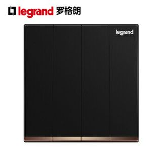 Legrand switches galion black