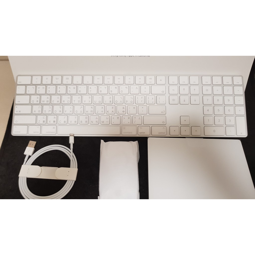 APPLE無線Magic Keyboard+Magic Mouse 2+Magic Trackpad 2