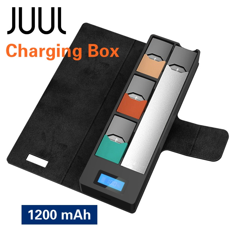 JUUL Pod Vape Kit Charger Box for JUUL00 Mobile Charging Pods Stand Box