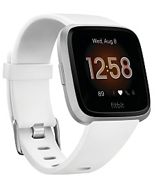 Fitbit Versa Lite White Strap Smart Watch 39mm