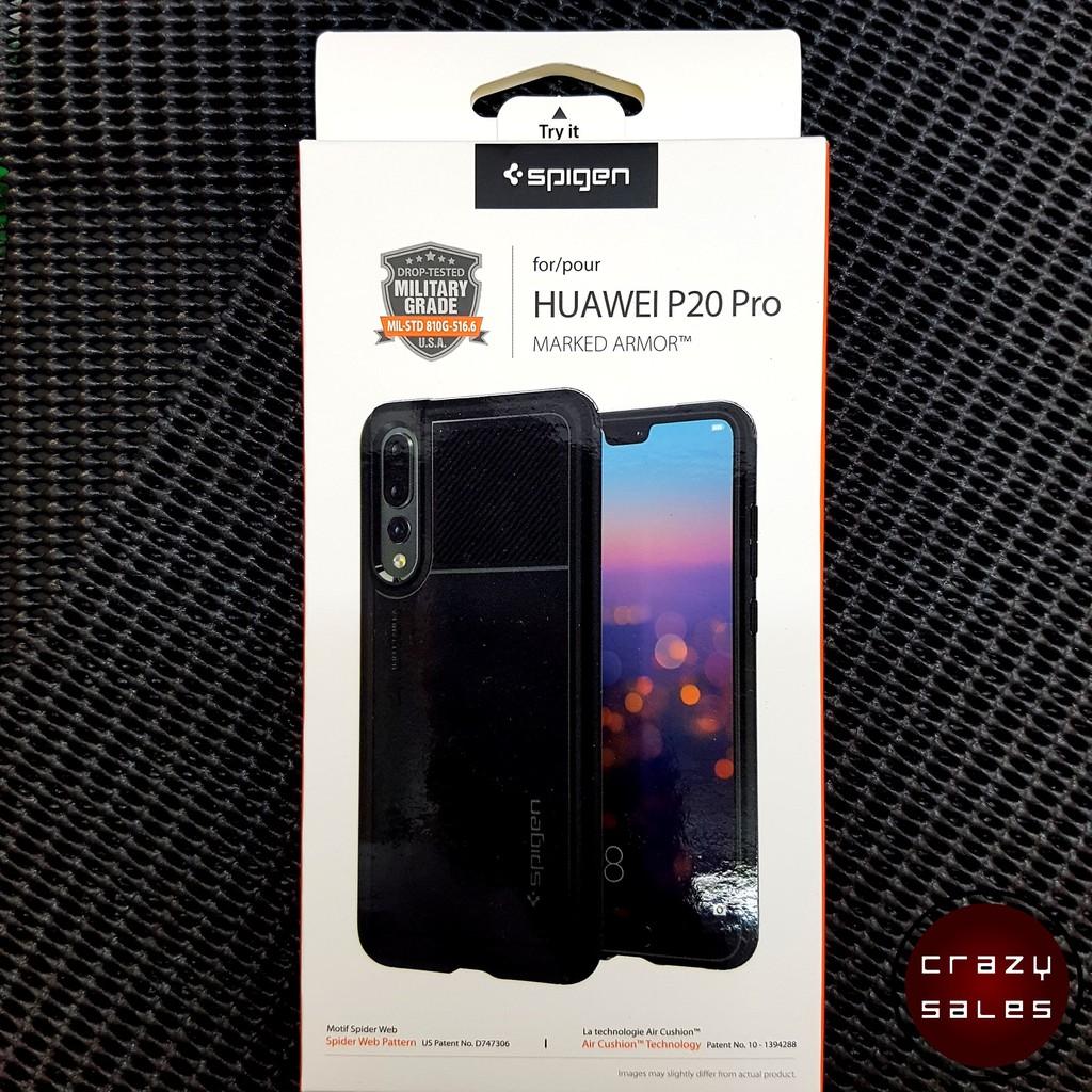 Huawei P20 Pro Spigen Marked Armor Case Cover