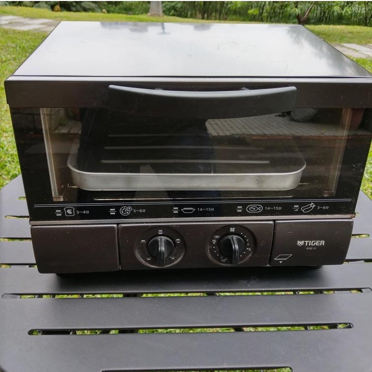 TIGER(虎牌) 8.25L五段式電烤箱 KAE-H13R 【日式二手店 大和堂】