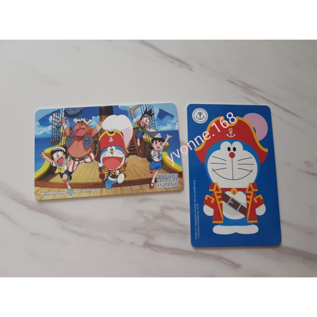 (INSTOCK) Doraemon Ezlink Card - Nobita's Treasure Island