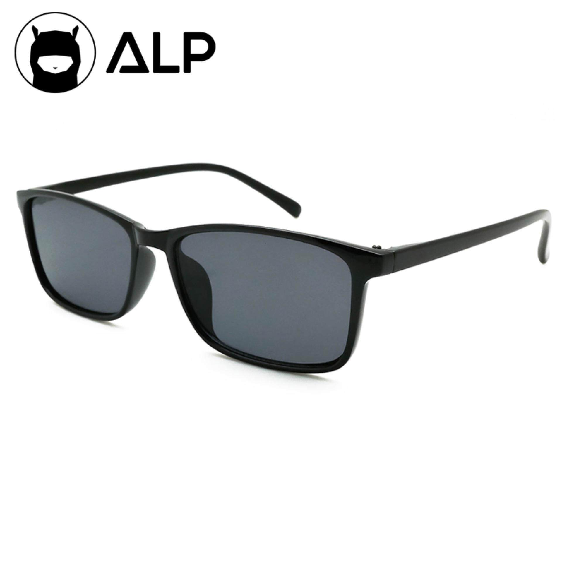 ALP Sunglasses แว่นกันแดด กัน UV 400 Square Style รุ่น ALP-0114