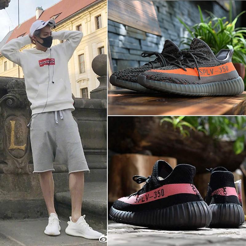 《小Q》Adidas Yeezy 350V2 Boost 純白斑馬 黑紅字 芝麻椰子跑鞋 CP9654  CP9366