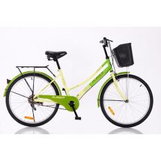 "Aleoca 24"" City Bicycle Garden City (Green)"