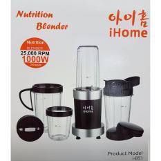 iHome Nutrition Bullet Blender 1000W Power i-B51