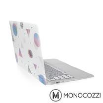 MONOCOZZI LUCID 半透明保護殼 for MacBook Air 13 吋with USB-C (2018) - 霧面白