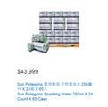 (COSTCO免運送到家系列) San Pellegrino 聖沛黎洛 天然氣泡水 250毫升 X 24瓶 X 65入 #1109326