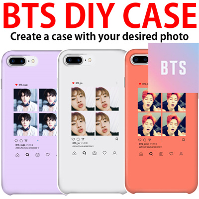 [BTS] DIY Phone Case / Create a case with your desired photo