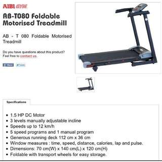 AIBI Foldable Motorised Treadmill