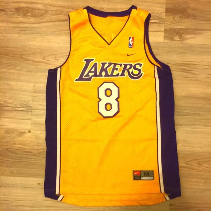 Kobe Bryant 球衣 黃8 kobe球衣