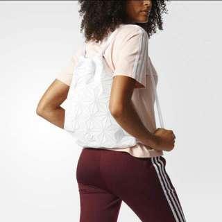 INSTOCKS! Gym Sack/Drawstring Issey Miyake Adidas White Bag *Limited Edition