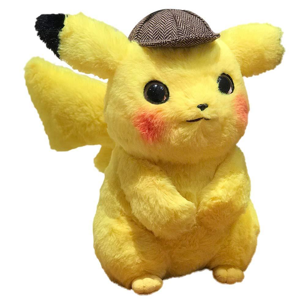限量現貨【正版授權】 福斯 Pokemon 名偵探皮卡丘 28公分 皮卡丘 造型 絨毛娃娃 精靈寶可夢 【台中星光電玩】