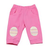 【愛的世界】MYBABY 水果百匯系列彈性緊身七分褲/4~6歲-台灣製-