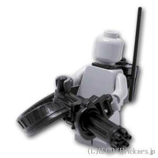 有Lego特別定做零件小癌給弾皮帶&ECB背包的[Black/黑色]| lego小花式滑水玩偶空想武器裝備 Brickers
